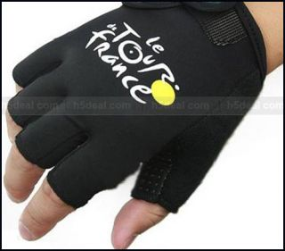 New Bike Cycling Bicycle Half Finger Gloves One Size