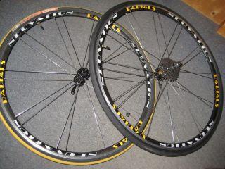 Vintage Neuvation Radials Bicycle Wheel Rim Set