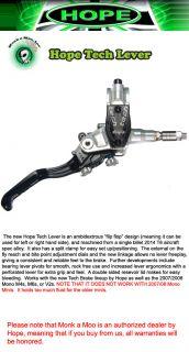 Hope Tech Lever Assembly MTB Mountain Bike Disc Brakes