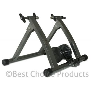 New Indoor Exercise Bike Bicycle Trainer Stand w 5 Levels Resistance