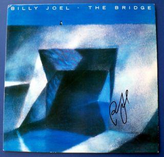 Billy Joel Autograph Signed The Bridge Autographed Album LP Record