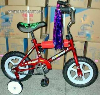 Kids First Bicycle Ride on Boys 1st Bike Training Wheels Red
