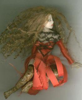 OOAK Witch Halloween Art Sculpt Sexy Carmine Fairy Biel