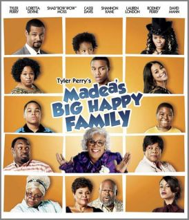 MADEAS BIG HAPPY FAMILY (BLU RAY) (CANADIAN R *NEW BL