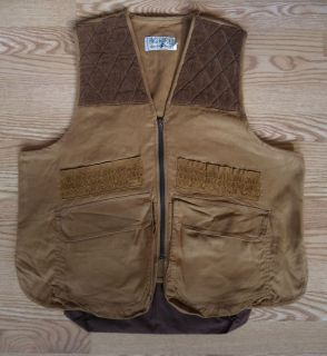 BIG HORN BLACK SHEEP HUNTING SHOOTERS VEST sz XL LIGHT BROWN PADDED