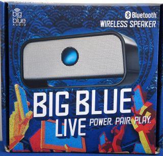 Big Blue Live Wireless Bluetooth Speaker (Black)**NEW**