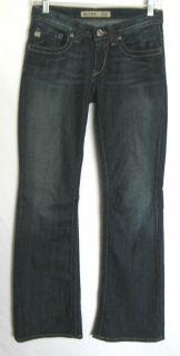 Big Star Jeans MADDIE Mid Rise Fit Denim Flap Pockets Jeans Womens