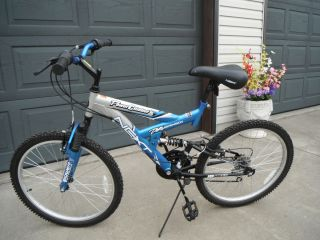 NEXT ~ 24 Mountain Bike Bicycle, Dual Suspension, 18 Speed, New