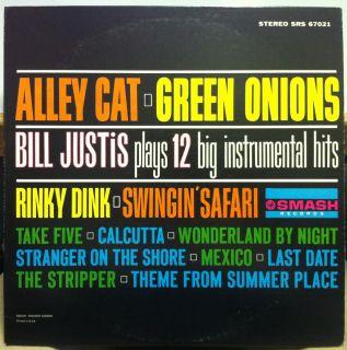 Bill Justis Alley Cat Green Onions LP Mint SRS 67021 Vinyl 1962 Stereo