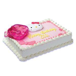 Hello Kitty Cake Decoration Topper Party Supplies Set Mirror Birthday