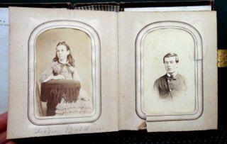 HANNUM FAMILY & FRIENDS PHOTO ALBUM brinton,sharp,newlin,baldwin