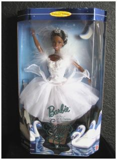 Mattel Black BARBIE AA as the Swan Queen in SWAN LAKE Ballet 1997 NRFB