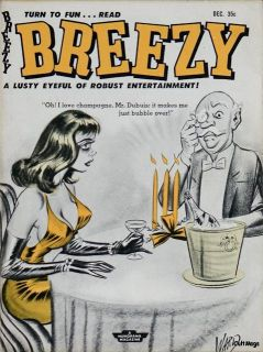 Breezy 1958 Dec Humorama Bill Ward GGA Bettie Page Racy
