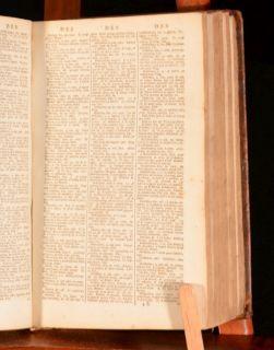 1792 Latin English and English Latin Dictionary William Young