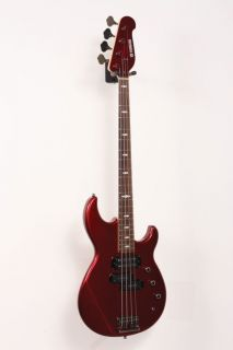 Yamaha Billy Sheehan 4 String Electric Bass Guitar Lava Red