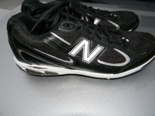MENS NEW BALANCE BLACK FOOTBALL CLEATS SHOES SIZE 13 PS1103KL