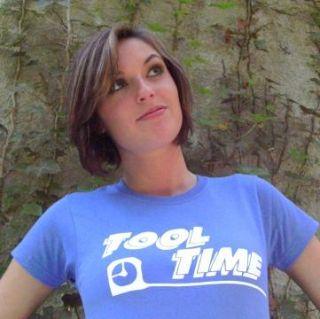 Tool Time T Shirt Home Improvement Heidi Tim Al New