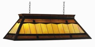 44 Billiard Pool Table Light w Knocked Down Frame 4 Lights