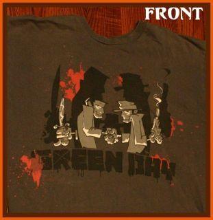 14 Delivered Green Day Billie Joe Armstrong Punk Rock T Shirt M