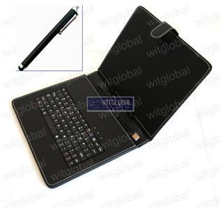 usb keyboard leather case stylus otg 4 9 7 mach speed trio stealth pro