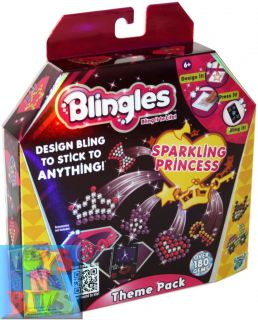 Blingles Theme Pack Sparkling Princess Girls Kids Craft Kit