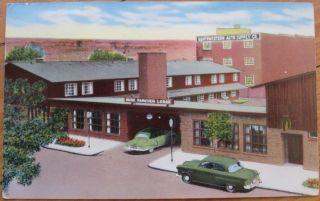 1953 Postcard Dude Rancher Lodge Billings Montana MT