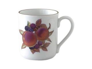 Royal Worcester Evesham Gold Mug Peach and Blackberry