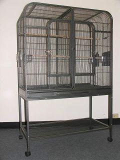 40x20X60 5 Divider Parrot Bird Cage Cages Cockatiel Finch Parakeet