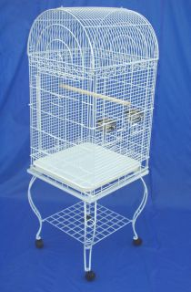 Parrot Bird Cage Cages #0104 White or #0103 Black Vein