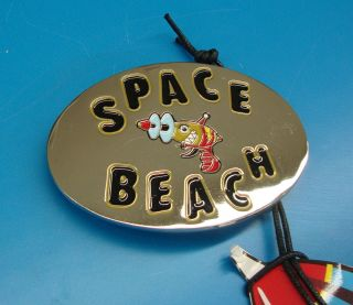 Billionaire Boys Club Silver BBC Space Beach Buckle