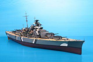 Trumpeter 1 200 German Bismarck Battleship 1941 Plastic Model Kit New