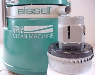 bissell little green machine instruction manual