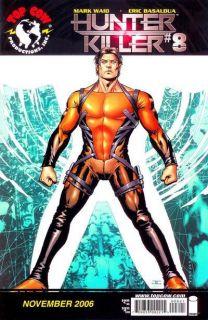 Hunter Killer Vol 1 8 John Cassaday Cover Comic Book