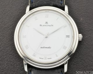 Blancpain Villeret Ultra Slim Platinum 950pt White Gold Automatic