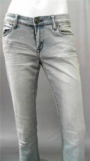 Blank NYC First Aid Bell Bottom Misses 29 Stretch Destroyed Jeans
