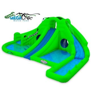 Ultra Croc 13 in 1 Inflatable Water Park by Blast Zone