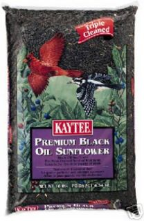 10 lb Kaytee Black Oil Sunflower Bird Seed 100033665