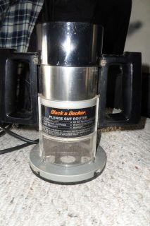 Vintage black decker router