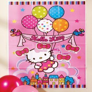 Hello Kitty Birthday Party Supplies Party Pin Game
