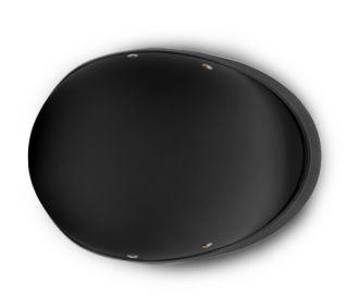 Novelty Helmets Flat Black Hawk Novelty Motorcycle Helmet Helmets