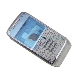New Full Housing Cover Case + Keypad For NOKIA E71 White + Tools