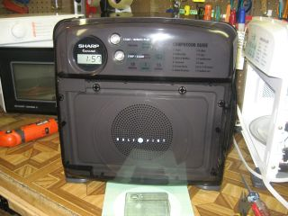 BLACK Sharp HALF PINT Microwave Oven 100% Professionally Reconditioned