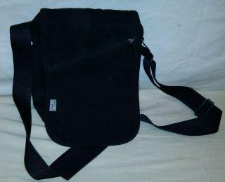 Eagle Creek Black Travel Documents Shoulder Messenger Bag Luggage 9 5