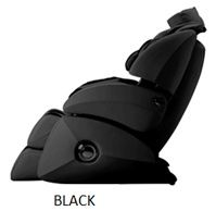 BLACK OS 7000 Executive Reclining Zero Gravity Full Body Massage Chair