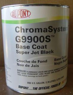 Auto Paint Dupont Chroma Base G9900S Super Jet Black