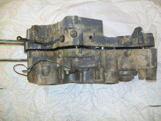 1995 Suzuki King Quad Engine Crank Case LT4WDX 300 Halves Crankcase