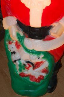 Empire 46 Blow Mold Santa Claus Light Christmas Outdoor Yard Decor