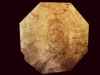 California Black Oak Burl Table Slab Air Dried 10 Years