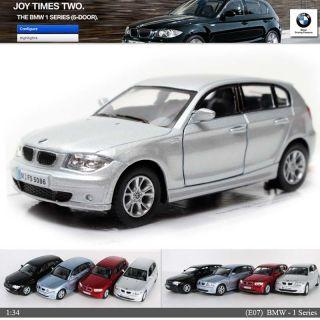 BMW 1 SERIES 134, 5 Color selection Diecast Mini Cars Toys Kinsmart