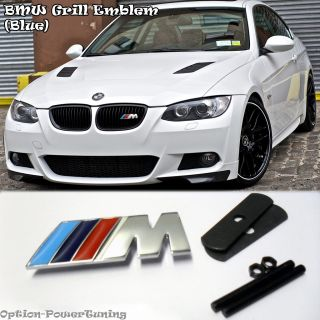 BMW Grill Emblem Blue Logo Decal Sticker M3 M5 x5 x6 Z4 M6 E46 3 5 7